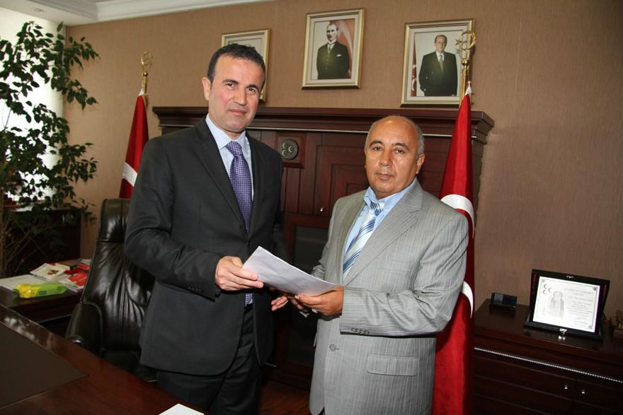Muzaffer SARICA Yeni �l�e Ba�kan�</a>